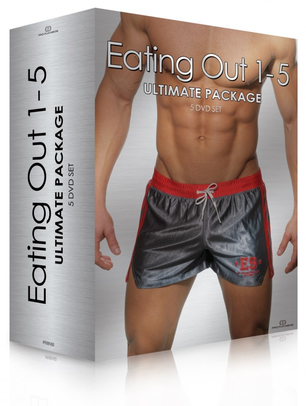 EATING OUT 1-5 Ultimate Package (5DVD)
