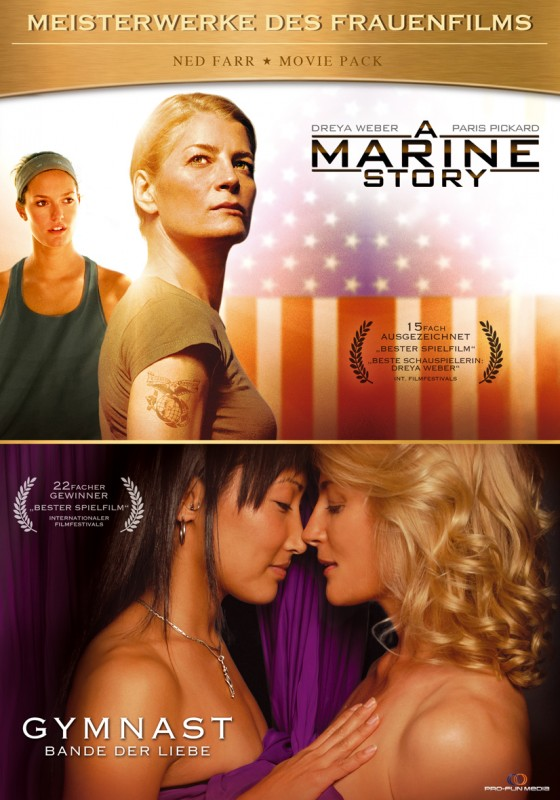 A MARINE STORY + GYMNAST - Das Ned Farr MOVIE PACK (2DVD)