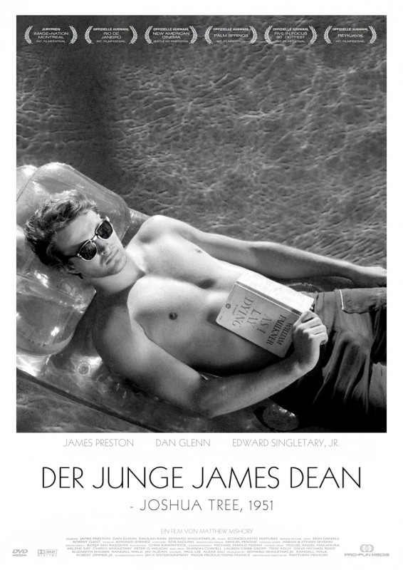 DER JUNGE JAMES DEAN - Joshua Tree, 1951