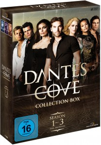 DANTE'S COVE Collection Box (Season 1-3 inkl. Pilotfilm) - 6DVD